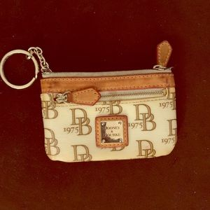 Dooney & Bourke small coin case
